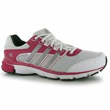Adidas Nova Cushion Running Shoes Womens White/Pink Trainers Sneakers Fitness