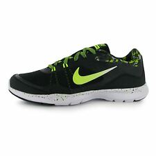 Nike Flex Fitness Trainers Womens Black/Volt Gym Workout Sneakers Shoes