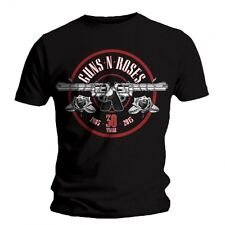 T-shirt Guns N Roses - 30th Anniversary Logo