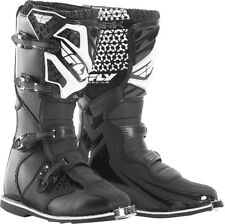 Fly Racing MAVERIK Black Off-Road MX Boots - Adult & Youth Size 1-15