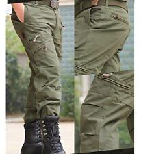 Men's Military Outdoors City Tactical Pants hiking casual Sport Cargo Pant #