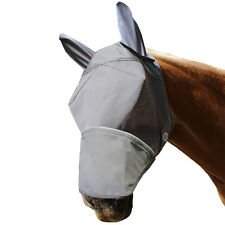 Derby Reflective Horse Fly Mask with Ears 1 Yr Limited Warranty First in the USA