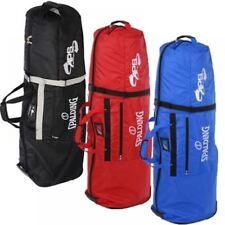 New Spalding Deluxe APS Padded Golf Bag Flight Travel Cover Wheeled Trolley Case