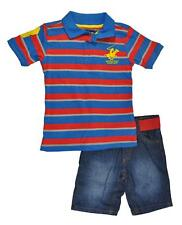 Beverly Hills Polo Club Toddler Boys Polo 2pc Short Set Size 2T 3T  $29.99