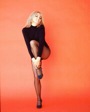 Joey Heatherton Sexy Leggy Color Poster or Photo Print