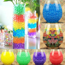 500pcs Colorful Water Plant Jelly Crystal Soil Mud Hydro Gel Pearls Beads Balls