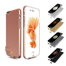 For iPhone 6/6S Plus Case External Battery Backup Power Bank Charger Case Cover