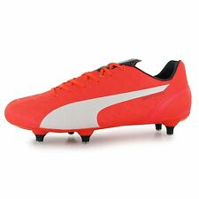 Puma evoSpeed 4 SG Soft Ground Football Boots Mens Lava Blast Soccer Boot Cleats