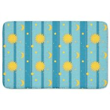 Sun, Moon and Stars Bath Mat