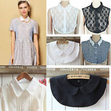 Fake Collar Shirt False Lapel Women Choker Lace Peter Pan Detachable Fashion t