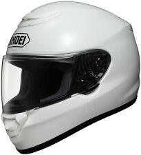 Shoei Qwest Full-Face Street Motorcycle Helmet - Solid White - Adult XS-2XL