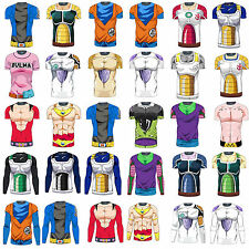 Dragon Ball Cospaly Costume T-Shirts Short/ Long Sleeve Tee Tops Jersey Cycling