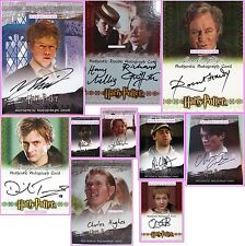 3D Auto Crouch Jr Ron George Weasley Fudge Pettigrew Harry Potter Trading Cards