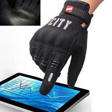 1 Pair Warm Touch Screen Motorcycle Motorbike Racing Protective Gloves M-2XL