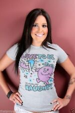 New Authentic Junk Food Little Miss Naughty Love to Be Naughty Juniors T-Shirt