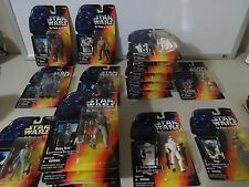 HUGE SELECTION of STAR WARS '95 Power Of the Force 2 Red Card ACTION FIGURES MOC