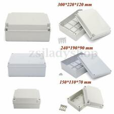 Adaptable Sealed ABS Electrical Power Junction Box Enclosure IP56 Waterproof Box