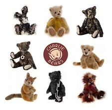 """NEW Teddy Bears by Charlie Bears - Highly Collectible Teddies, from 4"""" to 20"""""""