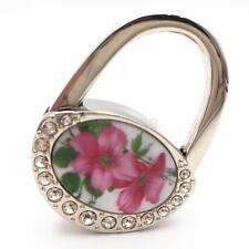 Oval Shape Vintage Design Metal Folding Purse Hanger Metal Handbag Table Hook