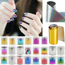 Wrap NailArt Foil Sticker Transfer Decal Tip Manicure DIY Tool Nail Decoration K