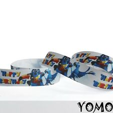 "1""25mm Bird Printed Grosgrain Ribbon 10/50/100 Yards Hairbow Wholesale 1"