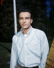 Montgomery Clift Portrait Rare Early Color Portrait Iconic Star Poster or Photo