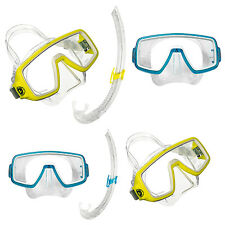 AQUA LUNG SPORT PLANET LX ADULT SNORKEL COMBO inc MASK! SWIM SEA DIVE SNORKELING