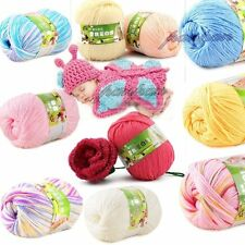 Sale 1 ball x 50g DK Baby Cashmere Silk Wool Children hand knitting Crochet Yarn