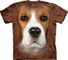 Beagle Face The Mountain Adult Size T-Shirt