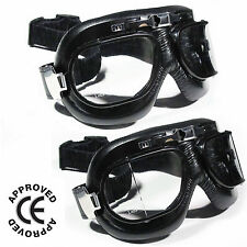 Motorcycle Goggles Flying Scooter Aviator Vintage Helmet Glasses For Motorbike
