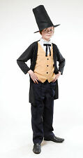 Boys Victorian Gent Costume for Edwardian Dickensian Fancy Dress Outfit