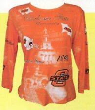 Oklahoma State University Women's Collegiate Fashion Tee Shirts- P. Micheal, Inc