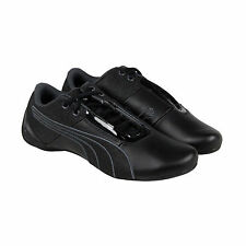 Puma Future Cat S1 NM Mens Black Leather Lace Up Sneakers Shoes
