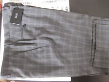 NWT BOSS HUGO BOSS SHARK6 PREMIUM DESIGNER FLAT FRONT WOOL PANT MADE IN ROMANIA