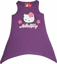 NWT Sanrio Hello Kitty Baby Girls Dress Top  (Pu) 2-8Y