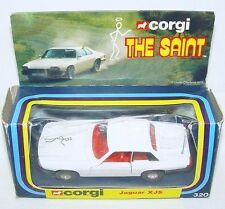 Corgi Toys 1:36 RETURN OF THE SAINT JAGUAR XJS TV Movie Model Car #320 MIB`78!