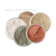 Mineral Makeup Set Concealer Sheer Powder Face Foundation Skin Cover Blush 5 Pc