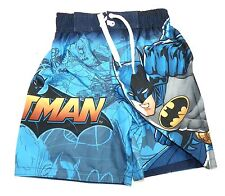 Boy's Swim Trunks Batman Bathing Suit Shorts DC Comics Bat Signal