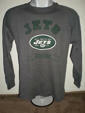 New-Minor Flaw- New York Jets Youth sizes L-XL NFL Long Sleeved Gray Shirt