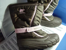 NIB SORELYouth Flurry™ TP  WINTER SNOW BOOTS -25F
