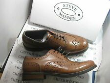 NIB Steve Madden GERALD  MEN'S OXFORD SLIP-ON  MENS LEATHER SHOES