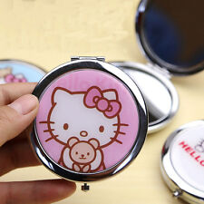 New HelloKitty Bling Compact two-sided mirror Cosmetic / Make Up Mirror aa-977