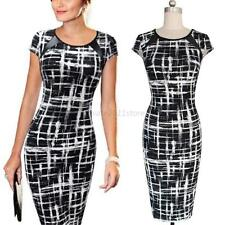 Celebrity Lady Wear To Work  Women's Office Work Formal Bodycon Pencil Dress