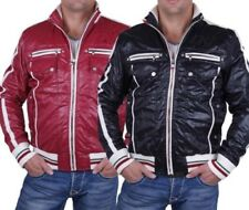 Shelly & Baxx Men Lined Jacket C-7100P Red, Black