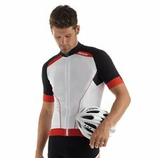 Tora Short Sleeve Cycling Jersey - Red/Black - Made in Italy by Santini