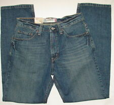 550 LEVIS DENIM JEANS RELAXED FIT TAPERED LEG MEN MENS 30 30