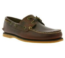NEW Timberland Classic 2-Eye Boat Shoe Men's Sneakers Boat shoes Brown 25077