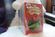 How To Train Your Dragon Books Set of 1-11 Cressida Cowell Brand New/Sealed