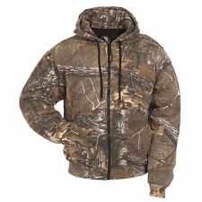 Camouflage Realtree Hunting Hooded Thermal Lined Sweatshirt #VC-GZ101-BA