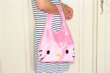 Hellokitty Shopping Travel Shoulder Bag Pouch Tote Handbag Folding Reusable